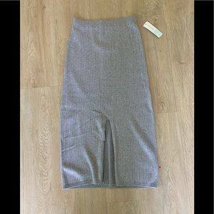 NWT Free People Knit Pencil Skirt